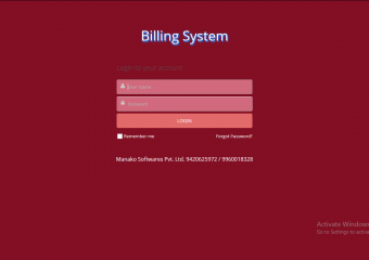 Billing Software With New GST Format